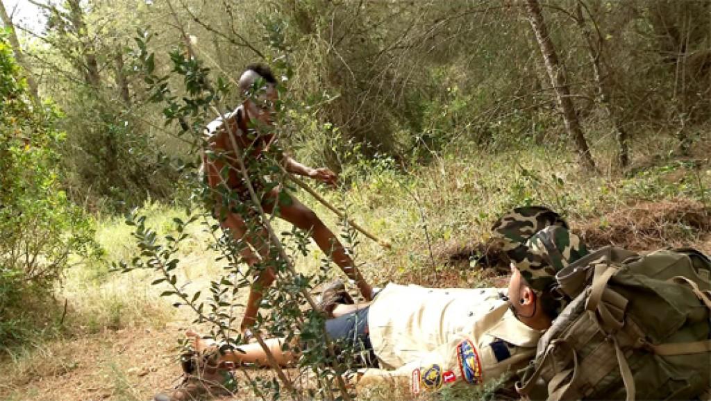 Sexo Zulú con Bianka de la selva. ¿Dr. Kevin White; supongo?