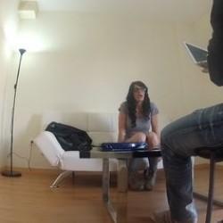Entrevista a Paula Martinez, la madura que pedia a gritos polla en su casting porno