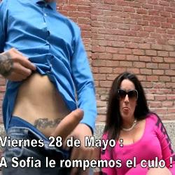 Viernes 28 de Mayo ...A Sofia le rompemos el culo
