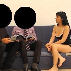 Follando con testigos de Jehova. Me llamo Sandra y voy a por todas en el porno