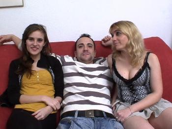Ainara nos presenta a su tita Marisa y se montan un trio con un amigo