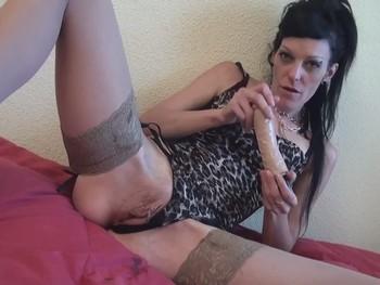 Doble penetracion Vaginal. Carla Crosh y nuestras Pollazas de Goma